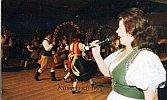 Tanzspiel Sommergewinn, 1998 mit der Sängerin Margot beim Lauschaer Galopp