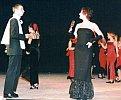 Die Party - eine Tanzgestaltung versnobter Gäste, Solisten Marcus und Susanne