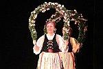 Folkloristischer Reigen von der Tanzgruppe neu einstudiert