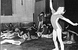Janina Schiller beim Tanzspiel ''Unser fröhlicher Vormittag'' 1987